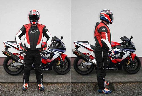 Hi Viz Illegal Rider