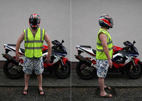 Hi Viz Legal Rider